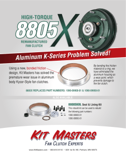 8805X Flyer - Kit Masters