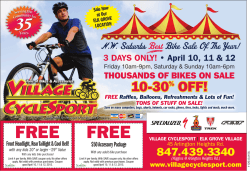 FREE FREE - Village CycleSport