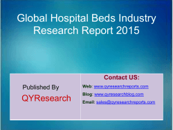 Global Hospital Beds Market 2015 Industry Trend, Analysis, Survey and Overview