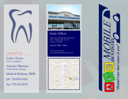 Carlos Torres Antonio Martinez Michael Shifman, DDS ph: 720.893