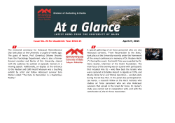 April 27, 2015 Issue No. 24 for Academic Year 2014-15
