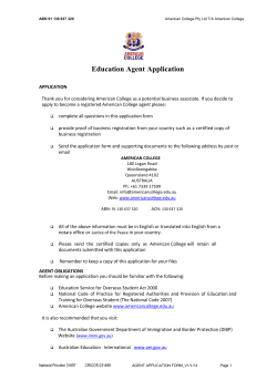 Education Agent Application