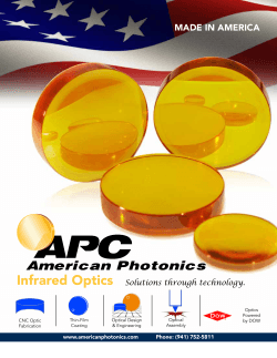 MADE IN AMERICA - American Photonics