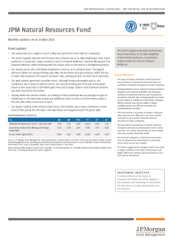 Commentary - JP Morgan Asset Management