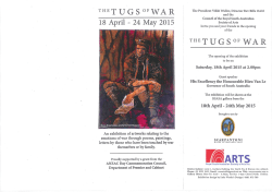 The Tugs of War Exhibition