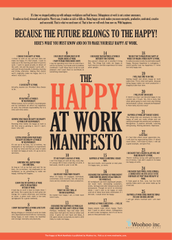 here`s what you must know and do to make yourself happy at work.