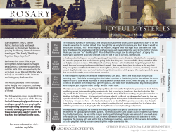 Family-Friendly Scriptural Meditations on the Rosary