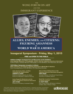 ALLIES, ENEMIES, AND CITIZENS: FIGURING ASIANNESS