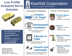 Kearfott Corporation - Astronautics Corporation of America