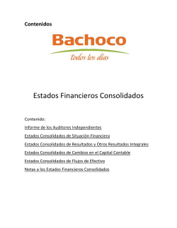 Estados Financieros 2014