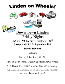 Linden Car Show 2015