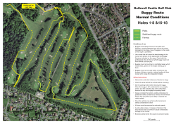 BCGC Normal Buggy Route - Bothwell Castle Golf Club