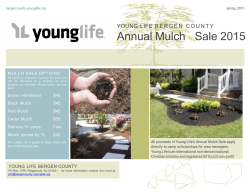 YL Bergen County Mulch Flyer 2015