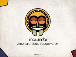 AFRO ELECTRONIC SOUNDSYSTEM. - Bi-Pole