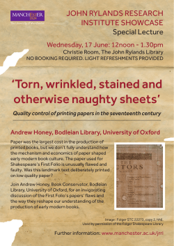 `Torn, wrinkled, stained and otherwise naughty sheets`