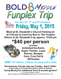 Funplex 2015 - Bold Youth Ministry