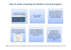 Go to iLearn and click on Student Learning Support Click on `Book