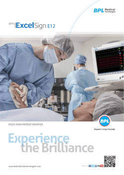 the Brilliance Experience - BPL Medical Technologies