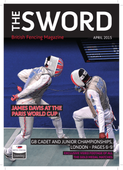 sword the - British Fencing Association