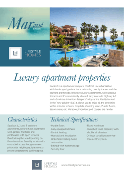 Luxury apartment properties
