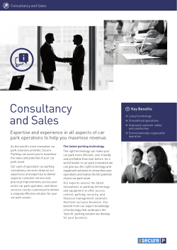 Consultancy and Sales