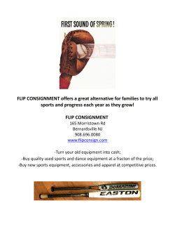 FLIP CONSIGNMENT offers a great alternative for families to try all