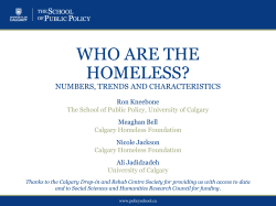 HERE - Calgary Homeless Foundation