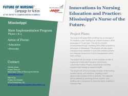 Mississippi`s Nurse of the Future.