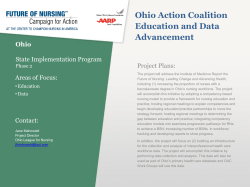 Ohio Action Coalition Education and Data Advancement