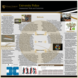 WFUPD Poster Presentation Revised April 2015