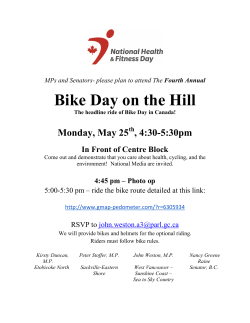 Bike Day on the Hill