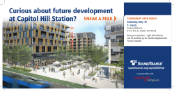 Curious about future development at Capitol Hill Station?