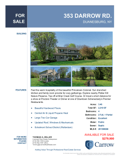 Property Brochure - Carrow Real Estate Services, LLC