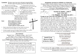 Ascension 2015 B Châtillon - Diocèse de Belley-Ars
