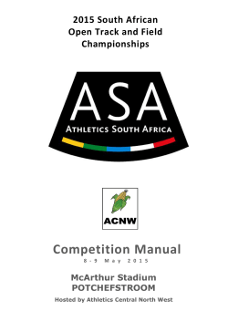 2015 South African Open Track and Field Championships