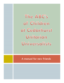 ABCs of Children at CUU