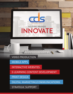 Capabilities Brochure V-4 - Celeritas Digital Solutions