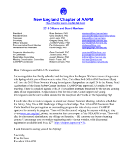 New England Chapter of AAPM