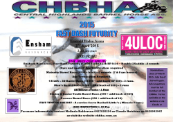 2015 Ensham Resources Fast Dash
