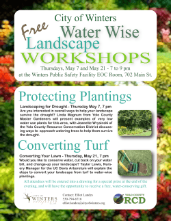 Flyer Water-Wise Workshops 2015 4