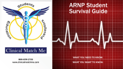 Clinical Match Me Student Guide