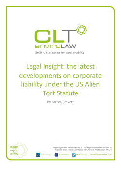 Legal Insight: the latest developments on corporate