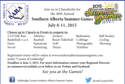 Southern Alberta Summer Games July 8