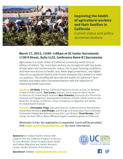 Improving the health of agricultural workers and their families in