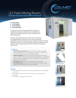 EZ Paint Mixing Room - Col