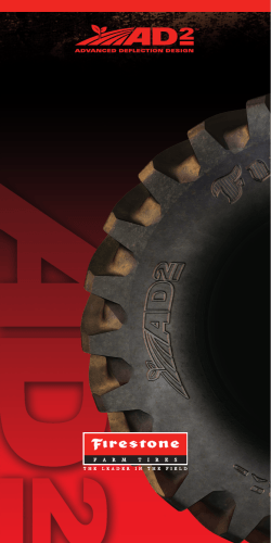AD2 Tire Technology Brochure