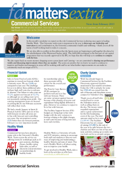 FD Matters Extra – February 2015