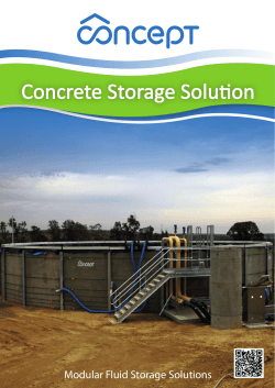 Concrete Storage Solution - Concept Environmental Services