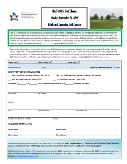 Golf-Registration-Form