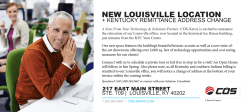 NEW LOUISVILLE LOCATION - COS